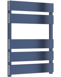 Fermo - Blue Electric Towel Rail H710mm x W480mm 150w Standard
