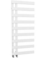 Agar - White Towel Radiator - H1156mm x W500mm