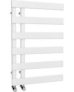 Agar - White Towel Radiator - H748mm x W500mm