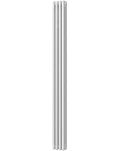 Alpha - White Vertical Column Radiator H1800mm x W198mm 3 Column
