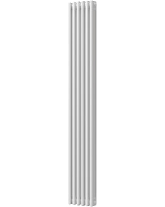 Alpha - White Vertical Column Radiator H1800mm x W287mm 3 Column