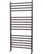 Ascot - Stainless Steel Heated Towel Rail - H1000mm x W500mm - Straight