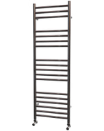 Ascot - Stainless Steel Heated Towel Rail - H1200mm x W400mm - Straight