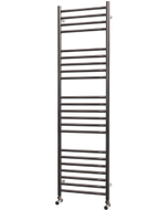 Ascot - Stainless Steel Heated Towel Rail - H1400mm x W400mm - Straight