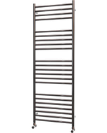 Ascot - Stainless Steel Heated Towel Rail - H1400mm x W500mm - Straight