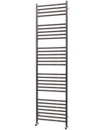 Ascot - Stainless Steel Heated Towel Rail - H1800mm x W500mm - Straight