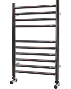 Ascot - Stainless Steel Heated Towel Rail - H600mm x W400mm - Straight