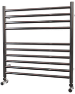 Ascot - Stainless Steel Heated Towel Rail - H600mm x W600mm - Straight