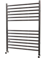 Ascot - Stainless Steel Heated Towel Rail - H800mm x W600mm - Straight