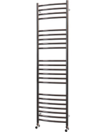 Ascot - Stainless Steel Heated Towel Rail - H1400mm x W400mm - Curved