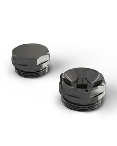 Talus - Radiator Bleed Valve & Blanking Plug Black Nickel