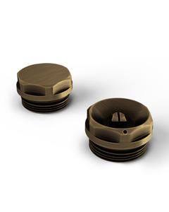 Talus - Radiator Bleed Valve & Blanking Plug Antique Brass