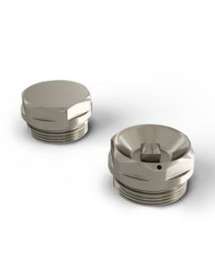 Talus - Radiator Bleed Valve & Blanking Plug Silver Nickel