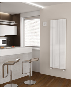 K-Flat Premium - Type 20 Double Panel Vertical Central Heating Radiator - H1800mm x W400mm