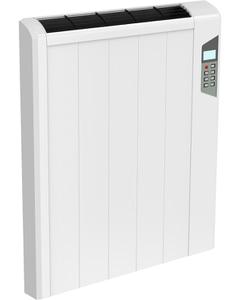 Arlec - White Horizontal Electric Radiator H565mm x W490mm 900w Thermostatic