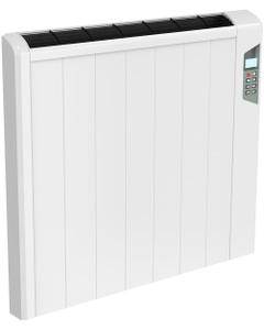 Arlec - White Horizontal Electric Radiator H565mm x W642mm 1250w Thermostatic