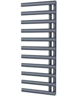 Elyan - Anthracite Towel Radiator - H1238mm x W500mm