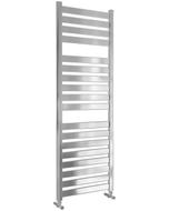 Capri - Chrome Towel Radiator - H1420mm x W500mm - Straight