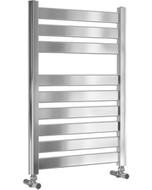 Capri - Chrome Towel Radiator - H719mm x W500mm - Straight