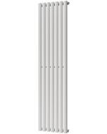 Omeara - White Vertical Radiator H1600mm x W406mm Single Panel