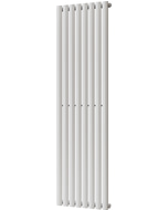 Omeara - White Vertical Radiator H1600mm x W464mm Single Panel