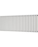 Omeara - White Horizontal Radiator H600mm x W1508mm Single Panel