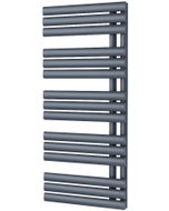 Percival - Anthracite Towel Radiator - H1120mm x W500mm