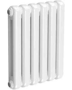 Coneva - White Column Radiator H550mm x W440mm 6 Sections