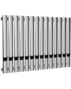 Neva - Chrome Horizontal Radiator H550mm x W826mm Single Panel