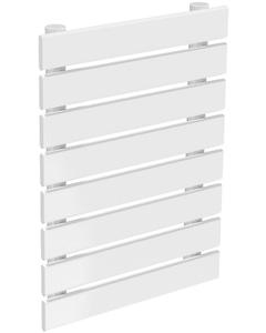 Rione - White Horizontal Radiator H544mm x W400mm Single Panel