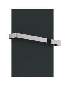 Slimline - Radiator Towel Bar Flat Straight Chrome 500mm
