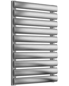Artena - Stainless Steel Horizontal Radiator H590mm x W400mm Single Panel - Brushed
