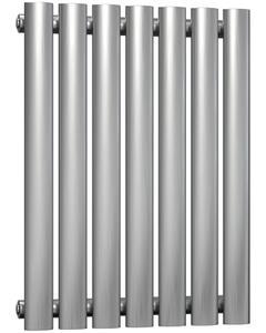 Nerox - Stainless Steel Horizontal Radiator H600mm x W413mm Single Panel - Brushed