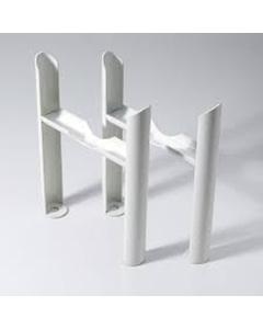 Klassic - Column Radiator Feet - 6 Column White