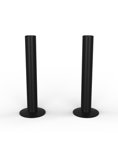 Talus - Black Matte Pipe Covers 130mm