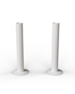 Talus - White Gloss Pipe Covers 130mm