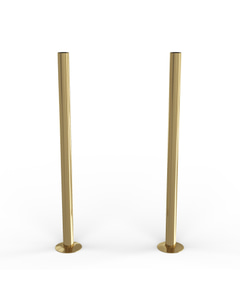 Talus - Polished Brass Polished Pipe Covers 300mm