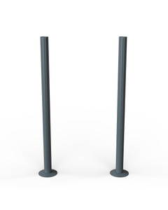 Talus - Anthracite Matte Pipe Covers 300mm