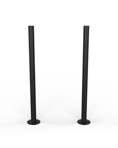 Talus - Black Matte Pipe Covers 300mm
