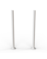 Talus - White Gloss Pipe Covers 300mm