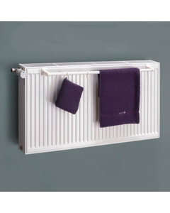 Panel - Radiator Towel Bar Round White 28mm x 725mm