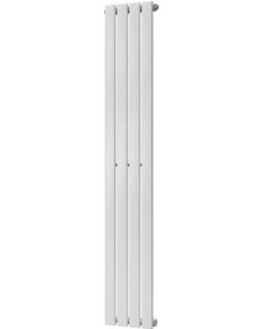 Typhoon - White Vertical Radiator H1600mm x W272mm Single Panel