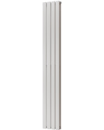Typhoon - White Vertical Radiator H1800mm x W272mm Double Panel