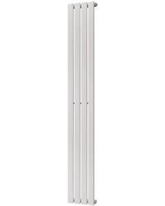 Typhoon - White Vertical Radiator H1800mm x W272mm Single Panel