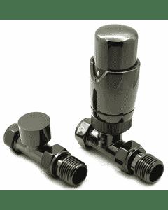 Modal - Oiled Bronze Thermostatic Radiator Valve Straight