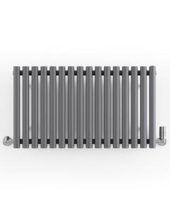 Rolo-Room - Anthracite Horizontal Designer Radiators H500mm x W865mm Single Panel