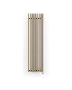 Rolo-Room - Quartz Mocha Vertical Electric Radiator H1800mm x W480mm 1000w Thermostatic